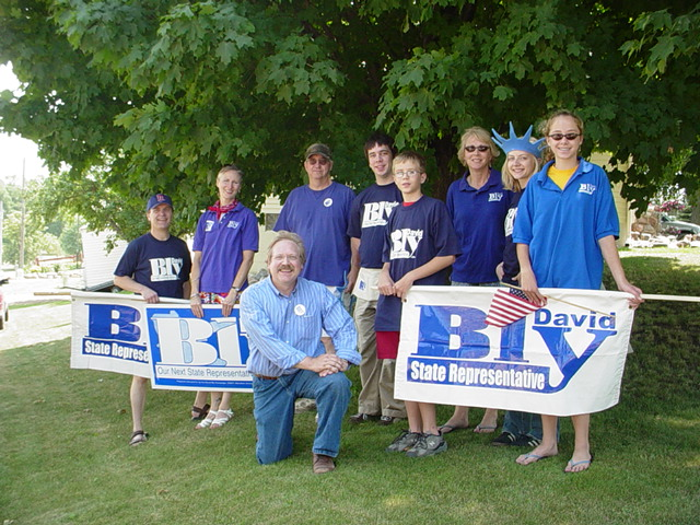 Rep. Bly campaigns